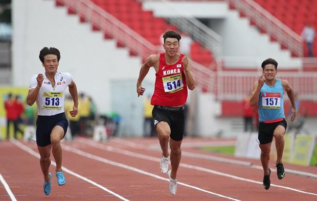 2018年第25次越南胡志明市国际田径公开赛在胡志明市举行 hinh anh 2