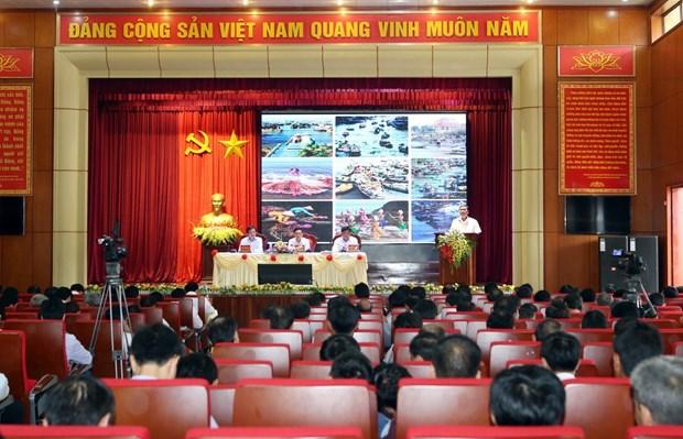 政府副总理王廷惠出席越南乡村新农村建设工作会议 hinh anh 1