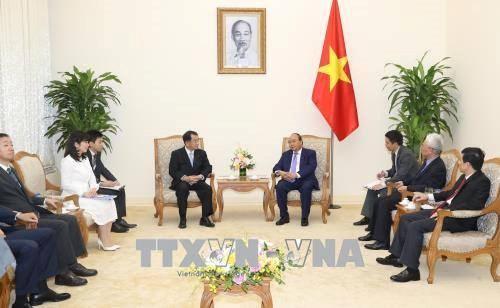 越南政府总理会见日本-湄公河议员联盟主席 hinh anh 1
