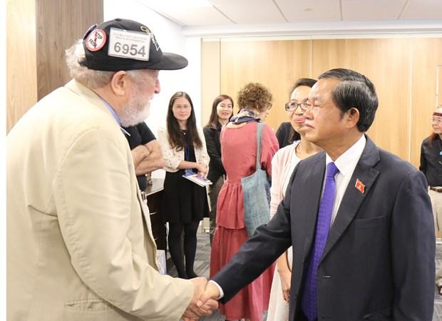 越南国会副主席杜伯巳率团对美国纽约进行工作访问 hinh anh 2