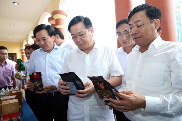 政府副总理王廷惠出席越南乡村新农村建设工作会议 hinh anh 3