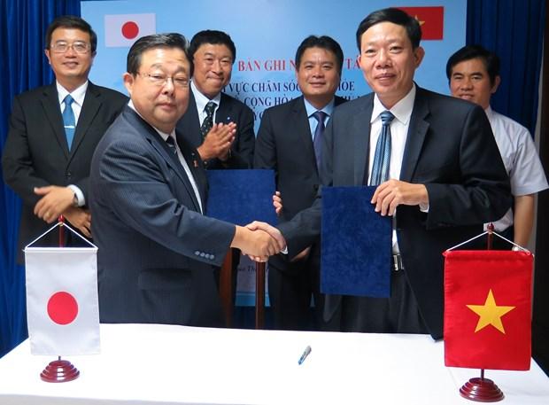 越南承天顺化省与日本横滨市加强医疗保健工作的合作 hinh anh 2