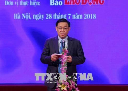 """""""光荣越南—各项工程的烙印""""活动:8项典型工程获表彰 hinh anh 1"""