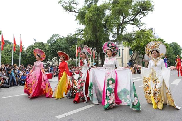 首都河内行政区划调整10周年:多项庆祝活动陆续举行 hinh anh 1