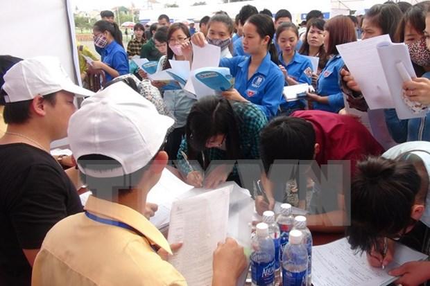 2018年下半年胡志明市需要招聘14.8万劳动力 hinh anh 1