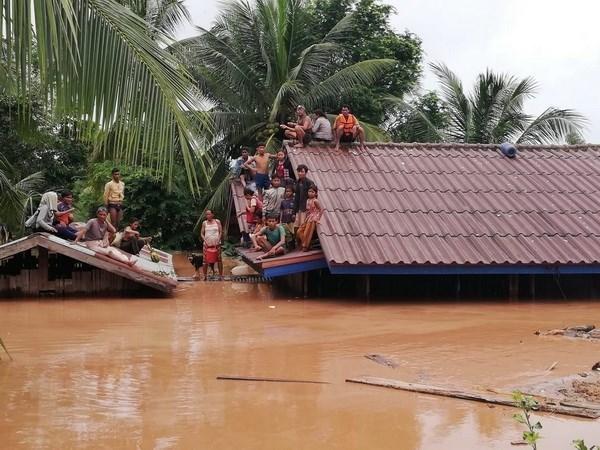 老挝水电站溃坝事故:老挝政府对有关水电站溃坝事故的虚假信息作出警告 hinh anh 1