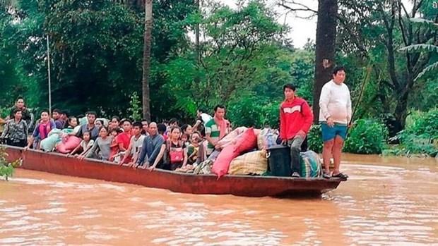 老挝水电站溃坝事故:老挝同韩国和泰国配合调查事故原因 hinh anh 1