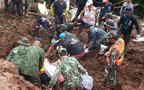缅甸遭严重洪灾 泰国泥石流造成8人死亡 hinh anh 3