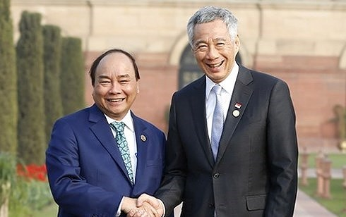 越南驻新加坡大使:充实越新战略伙伴关系内涵 推动两国关系迈上新高度 hinh anh 2