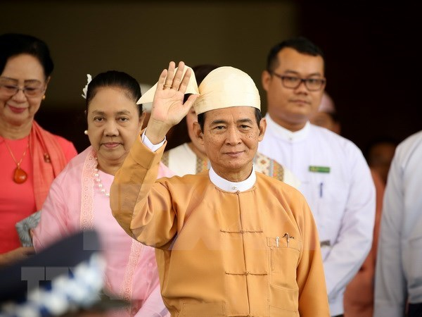 缅甸总统敦促推进国内改革进程 hinh anh 1