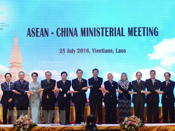 东盟与中国就《东海行为准则》单一磋商文本草案达成一致 hinh anh 1