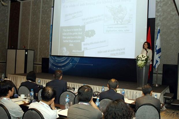 越南与以色列企业加强网络安全领域合作 hinh anh 2