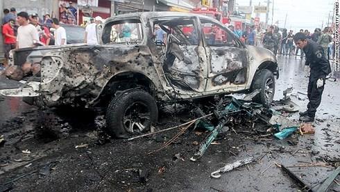 菲律宾西南发生汽车炸弹爆炸致6人死亡 hinh anh 1