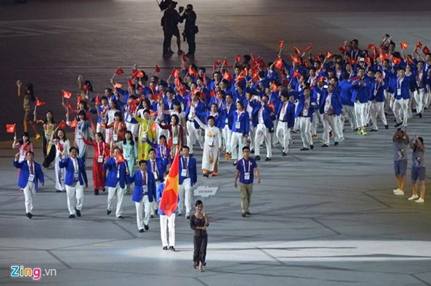 由500多个成员组成的越南体育代表团将参加2018年亚洲运动会 hinh anh 1