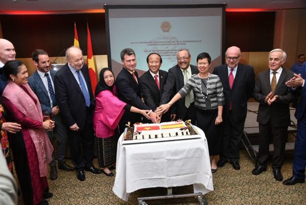 越南与瑞士在多领域上的合作关系不断向前迈进 hinh anh 1