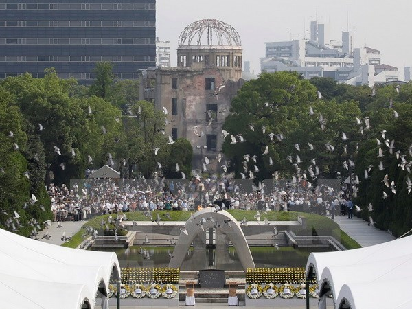 越南国家主席陈大光:越南一贯政策是反对核武器 hinh anh 1