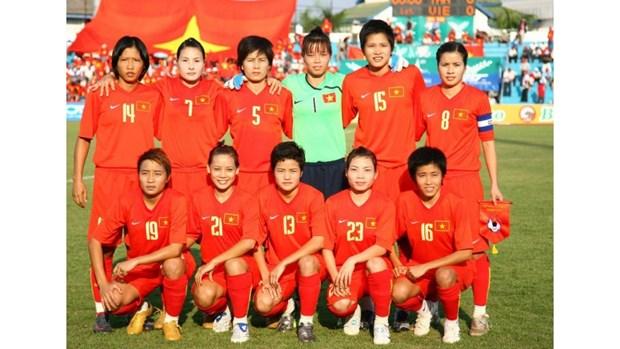 越南国家女足队为2018雅加达亚运会做出准备 hinh anh 1