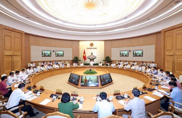 越南政府总理阮春福:河内应确保洪涝地区的环境卫生 hinh anh 1