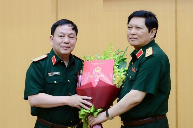 黎登勇少将正式出任越南军队电信工业集团总裁 hinh anh 1