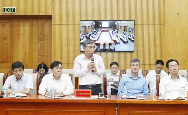 越共中央民运部长会见新任驻外大使和代表机构首席代表 hinh anh 2