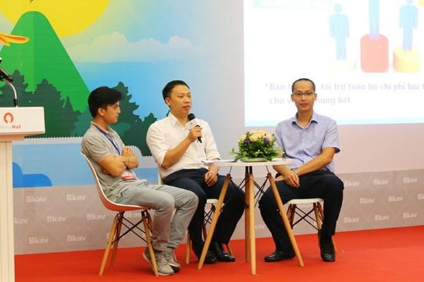 越南首次主办全球网络安全竞赛现场比赛 hinh anh 1