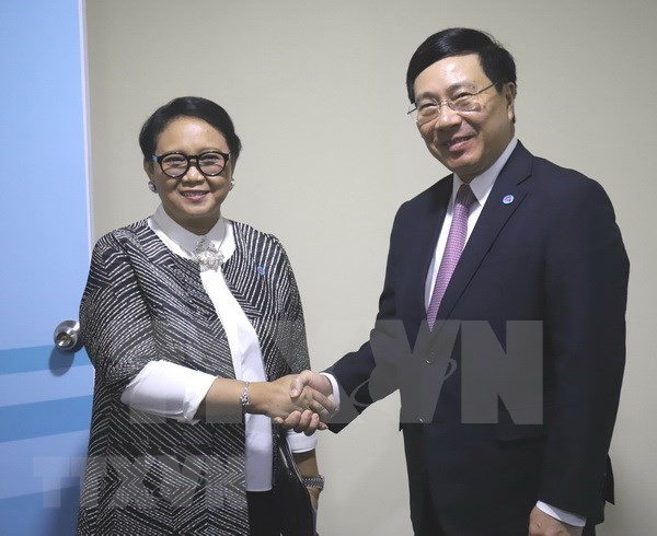 范平明在AMM-51期间密集与各国外长举行双边会晤 hinh anh 3