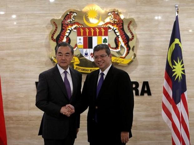 中国与马来西亚进一步加强友好合作关系 hinh anh 1