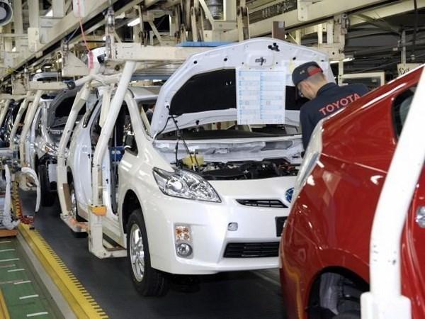 越南丰田汽车公司承诺将提高越南汽车国产化率 hinh anh 1