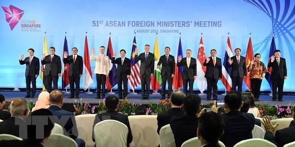 第51届东盟外长会议:加强湄公河与恒河水资源管理和可持续利用的合作 hinh anh 1