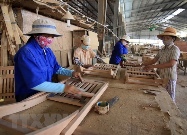 越南木材及木制品成功进入120个国家和地区 hinh anh 1