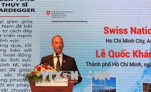 瑞士国庆节727周年庆典在胡志明市举行 hinh anh 1