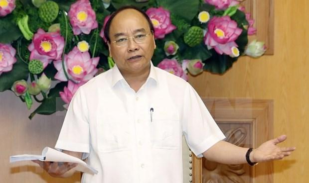 阮春福总理:转变思维方式和工作方式 实现增长模式转型 hinh anh 1
