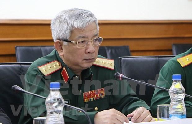 越南国防部副部长阮志咏:越印国防政策对话成果充分体现两国高度的政治互信 hinh anh 1