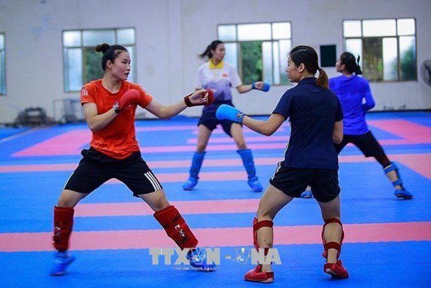 2018年亚运会:越南运动员决心为祖国争光 hinh anh 1