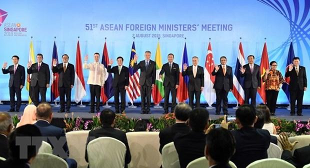 第51届东盟外长会议:东盟-印度外长会议召开 hinh anh 1