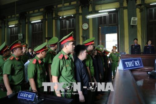 贩卖运输毒品高达37公斤 胡志明市人民法院判5人死刑4人无期 hinh anh 1