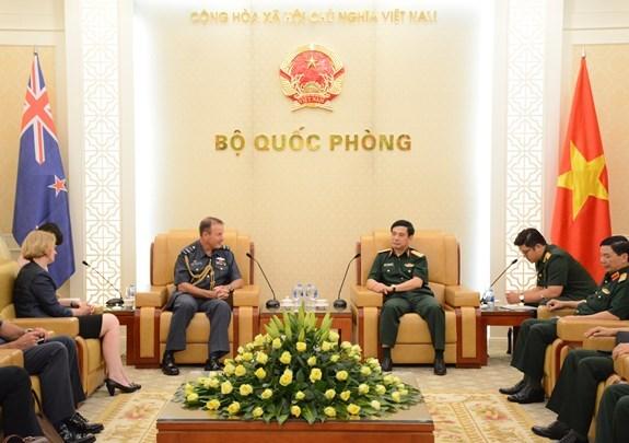 越南与新西兰加强防务合作关系 hinh anh 1