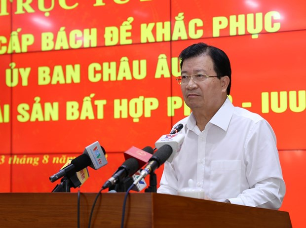 """越南多措并举解决越南渔业""""黄牌""""警告问题 hinh anh 2"""