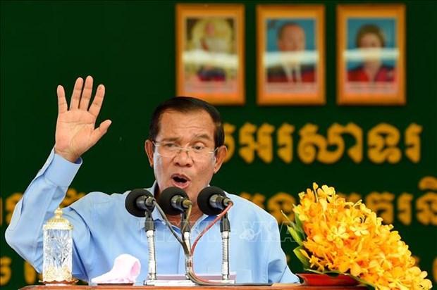 洪森宣布新一届柬埔寨政府9月20日成立 hinh anh 1
