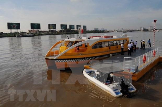 胡志明市水路旅行潜力仍有待挖掘 hinh anh 1