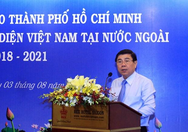 越南驻外代表机构为推动胡志明市与世界各地的合作关系做出积极贡献 hinh anh 2