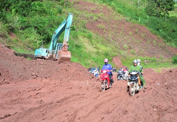 越南北部山区各省须做好灾害跟踪监测和预报工作 hinh anh 2