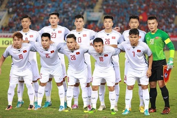 越南U23队1-0阿曼U23队:后卫文厚再现世界级进球 hinh anh 2