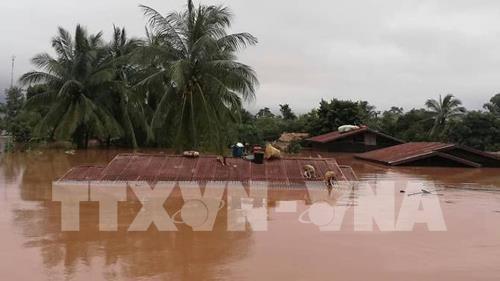 老挝水电站溃坝事故:老挝政府暂停全国所有水电站项目 hinh anh 1