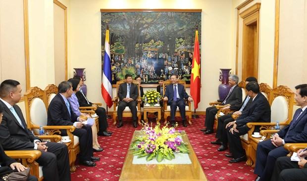 越泰两国加强政治安全合作 hinh anh 2