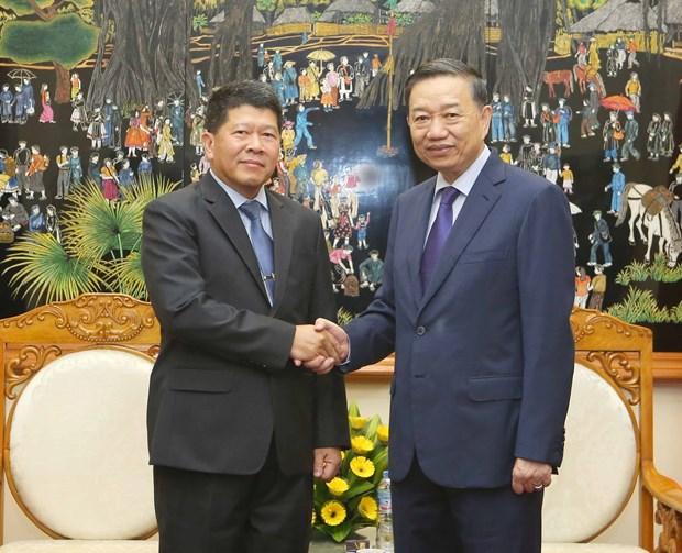 越泰两国加强政治安全合作 hinh anh 1