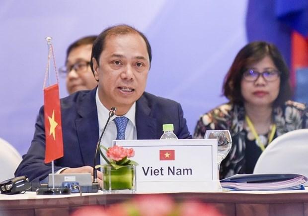 越南副外长阮国勇:越南积极主动参与和充分履行东盟各项承诺 hinh anh 1
