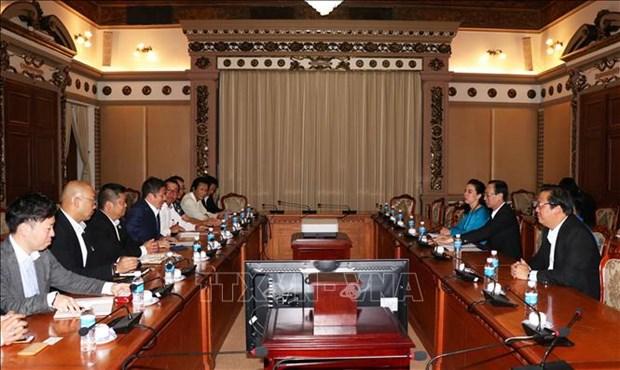 日本企业对胡志明市经济发展潜力持有乐观态度 hinh anh 1