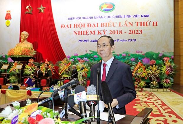 国家主席陈大光:老兵企业家积极发展经济社会 hinh anh 3