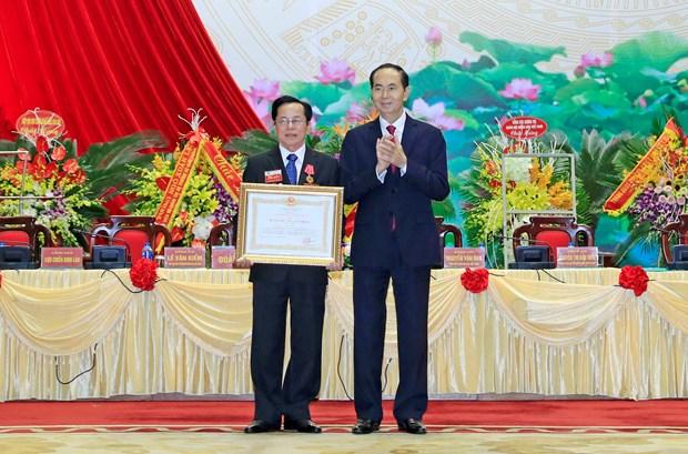 国家主席陈大光:老兵企业家积极发展经济社会 hinh anh 2